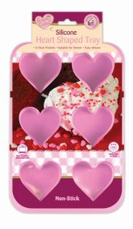 Heart Shaped Silicone Mould