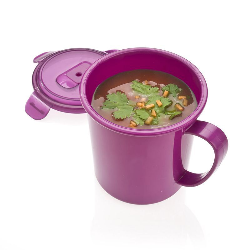 685ml Soup Mug Polar Gear (Berry)