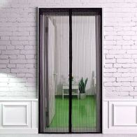 See more information about the Magic Magnetic Door Mesh Black Anti Bug Insect Fly Curtain Screen 83x3