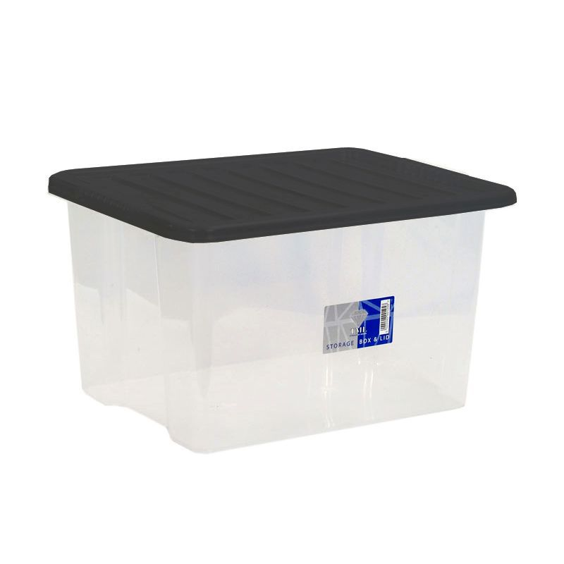 30 L Premier Clear Box & Lid