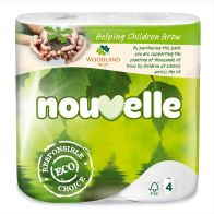 See more information about the Nouvelle Toilet Tissue 4 pack