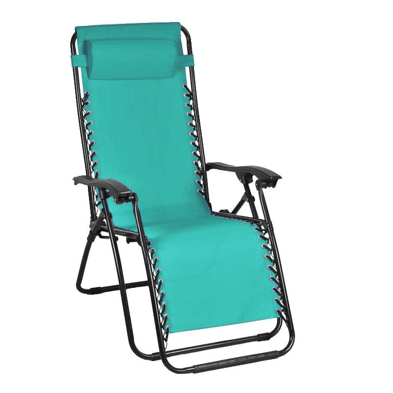 Gravity Recliner Chair Turquoise Buy Online At Qd Stores