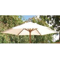 See more information about the 2m Wooden Parasol Beige