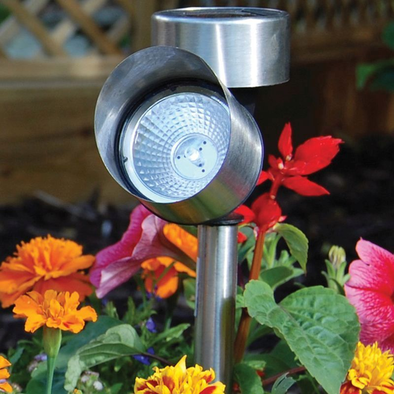 Bright Garden Single Spot Solar Light