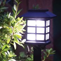 See more information about the Traditional Oriental Solar Lantern Stake