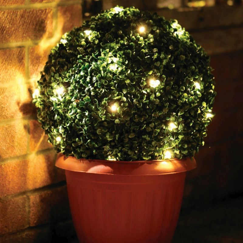 35cm Topiary with 30 warm LEDs