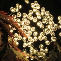 See more information about the Bright Garden 100 LED Solar Lights Warm Glow