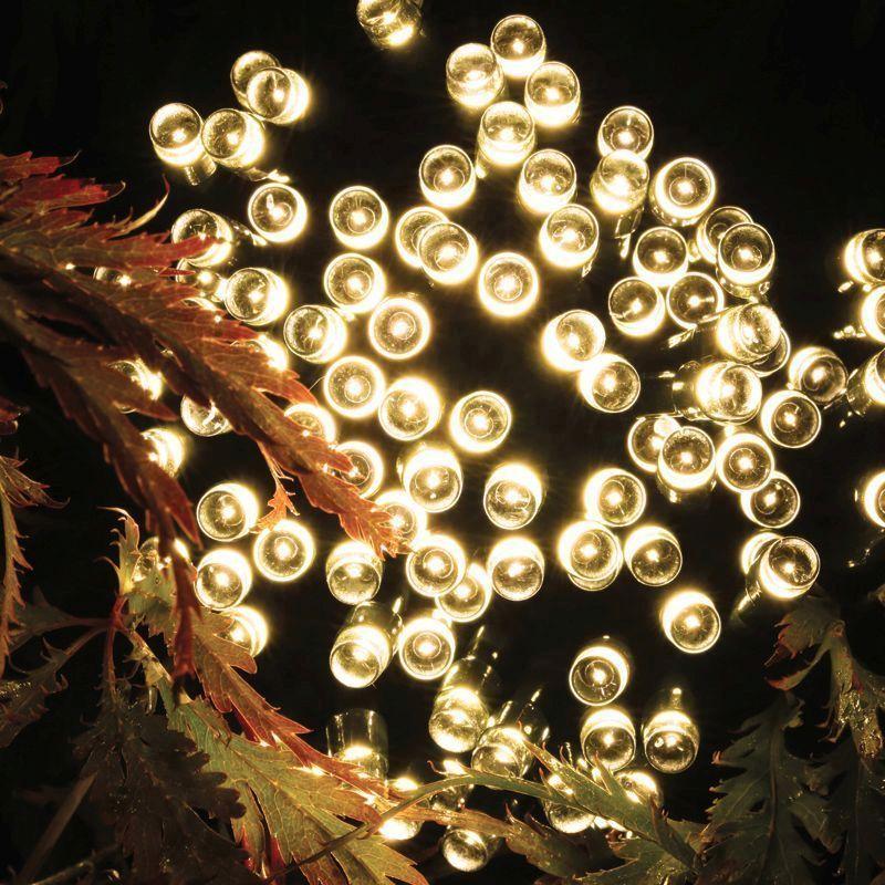 Bright Garden 100 Led Solar Lights Warm Glow Buy Online