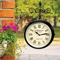 See more information about the Outdoor Traditional Station Garden Clock with Bracket