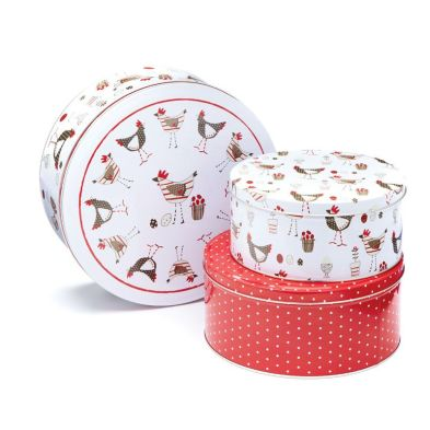 Cake Tins Chicken Set 3