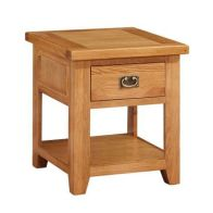 See more information about the Cotswold Holkham Oak Lamp Table Mini Cotswold