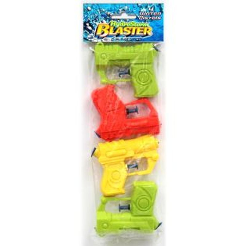 4 Mini Water Guns