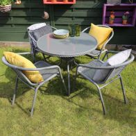 See more information about the Savona 5 Piece Rattan Garden Set