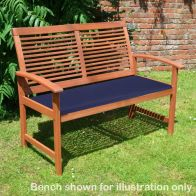 See more information about the Croft Bench Cushion Green (4cm)