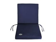 See more information about the Garden Furniture Mid-Back Cushion [Blue}