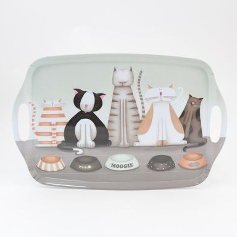 Cats Large Instyle Tray 19in