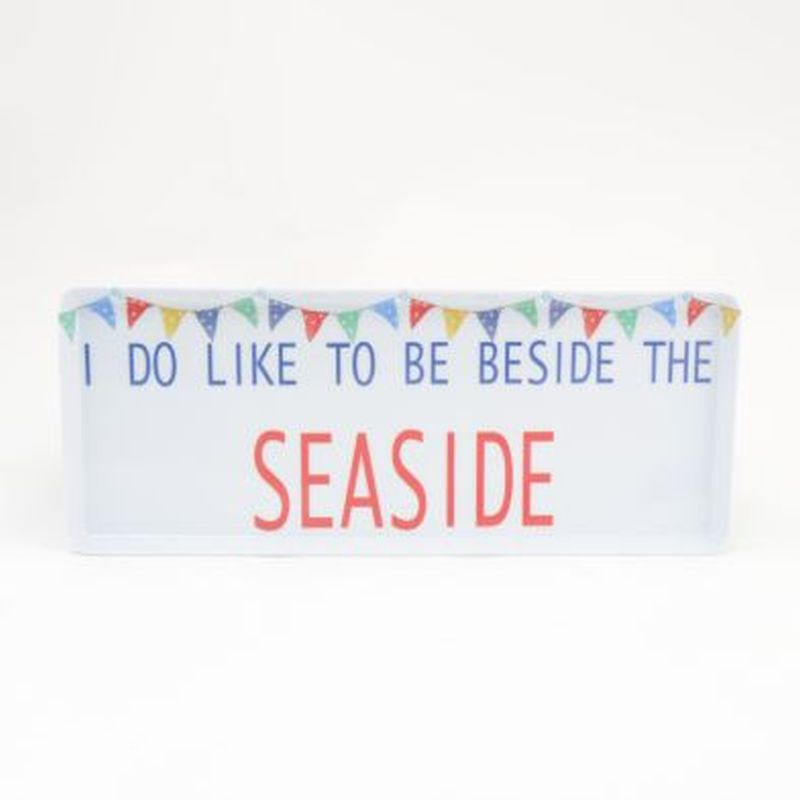 Seaside Instyle Small Tray 15.5in