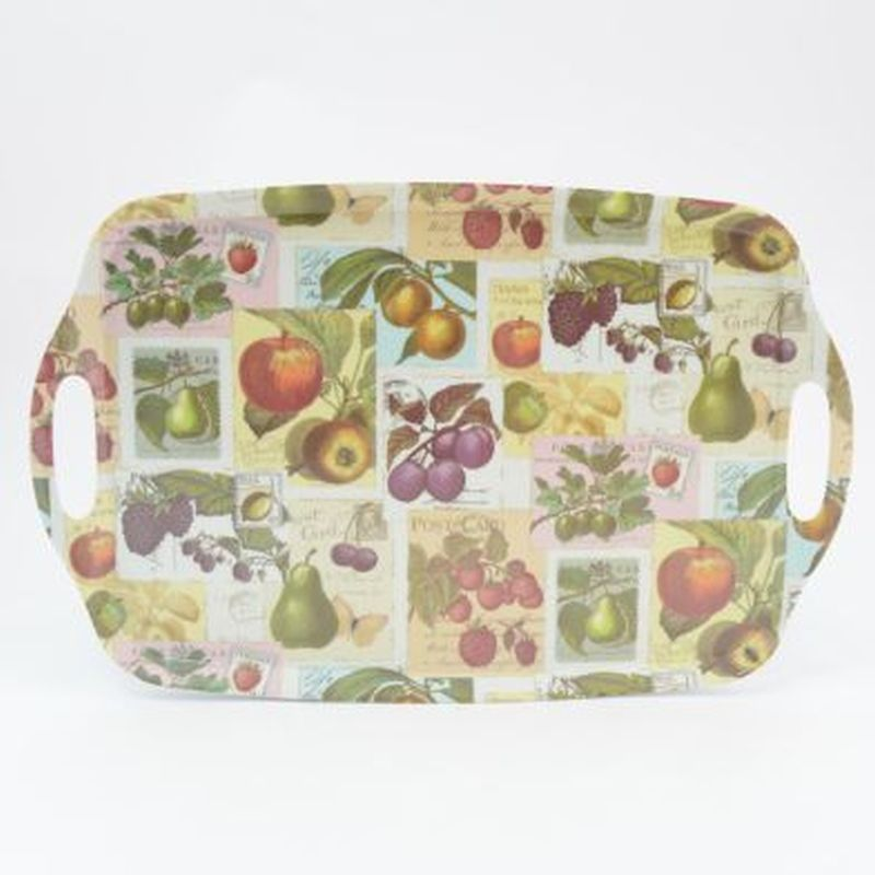 Vintage Fruit Large Instyle Tray 19in