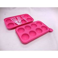 See more information about the Silicone Tasty Top Cake Pops 8 Sticks