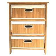 See more information about the 3 Bamboo Drawer Unit