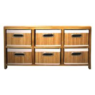 See more information about the 6 Bamboo Drawer Unit