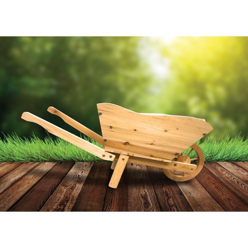 Wood Wheelbarrow: Buy Online At QD Stores
