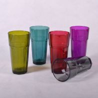 See more information about the Glass Tumbler With Colour Spray (360ml)