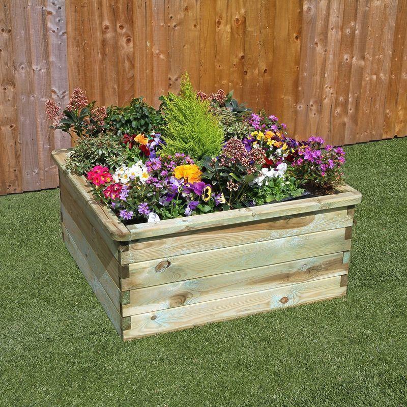 Small Sleeper Garden Raised Bed