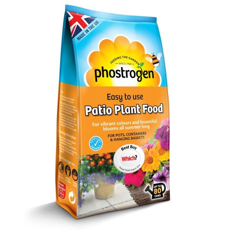 Phostrogen Patio Balanced Plant Food 800g - Which Recommended