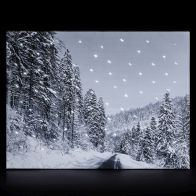 See more information about the Fibre-Optic Tapestry With LEDs - Mountain Road (30x40cm)