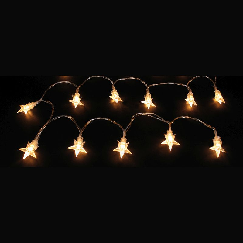 Star Decoration With 24 Warm White LEDs