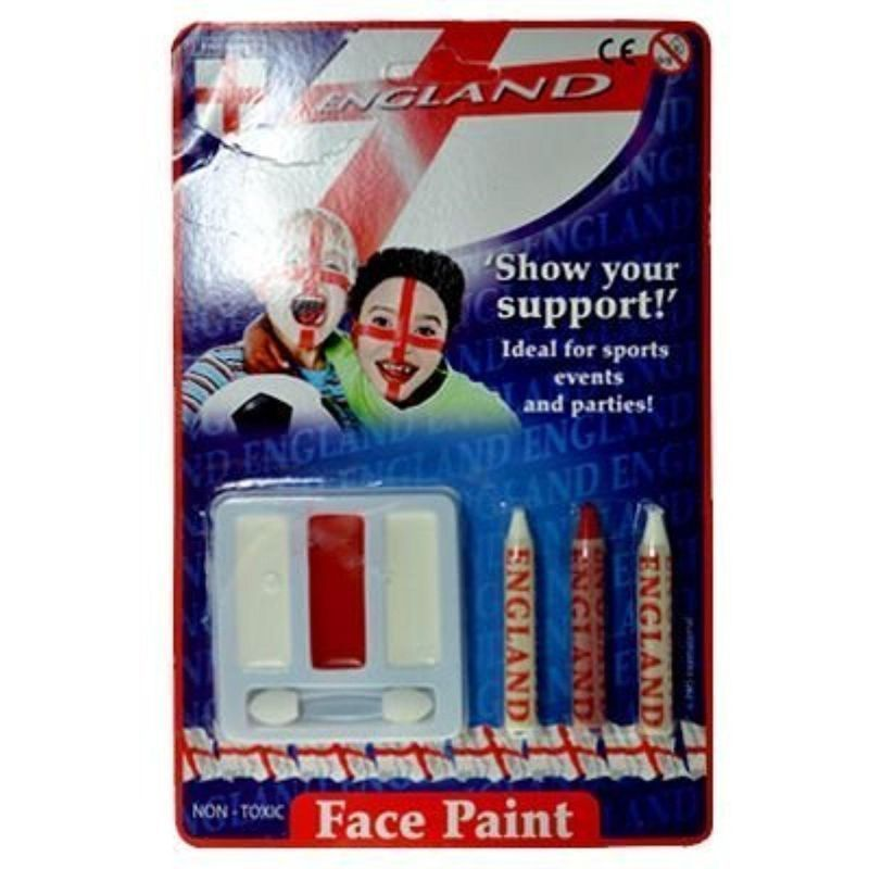 England Face Paint Set