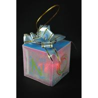 See more information about the PVC Gift Box With Colour Changing LED 5cm