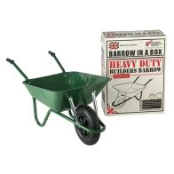 See more information about the 85L Green Builders Wheel Barrow