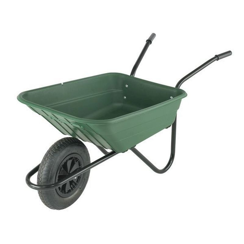 Polypropylene Multi-Purpose Green Barrow (90 Litre)