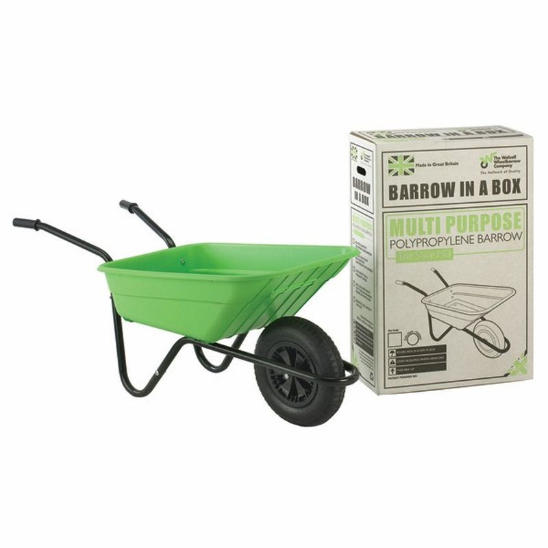 Lime Polypropylene Multi-Purpose Barrow (90 Litre)