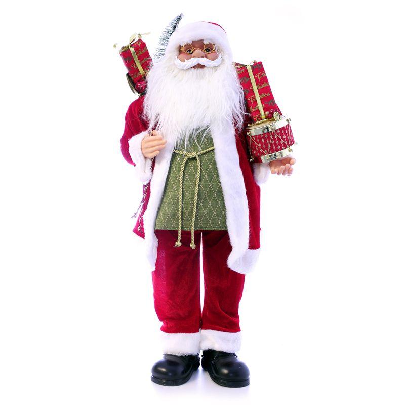 Standing Santa Christmas Decoration Buy Online At Qd Stores
