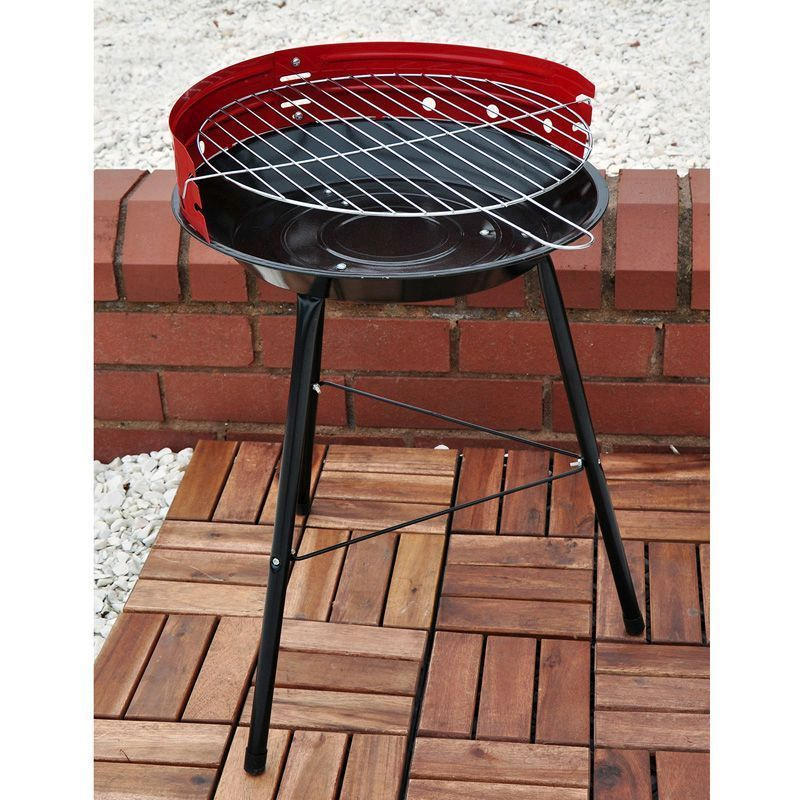 Kingfisher 14 Inch Steel Lightweight BBQ
