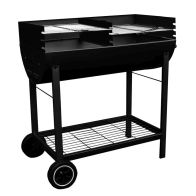 See more information about the Half Drum Steel BBQ