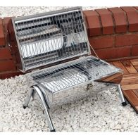 See more information about the Portable Barrel Stainless Steel BBQ