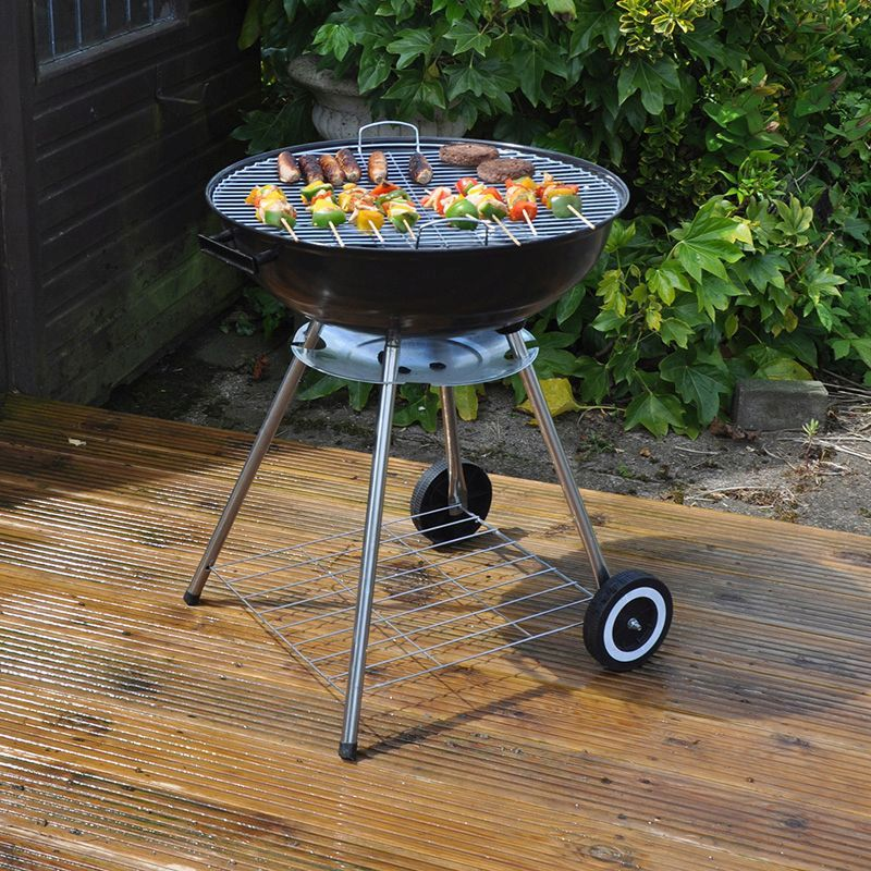 Kingfisher Kettle Steel BBQ (22 Inch)