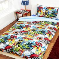 See more information about the Childs Single Duvet Set - Comic Strip