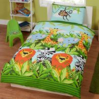 See more information about the Childs Single Duvet Set - Jungle Friends