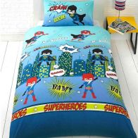 See more information about the Childs Single Duvet Set - Ship Ahoy Pirate