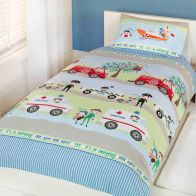 See more information about the Childs Single Duvet Set - Emergency Vehicle