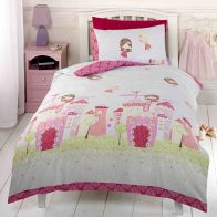See more information about the Dream & Snooze Single Duvet Set - Fairy Castle