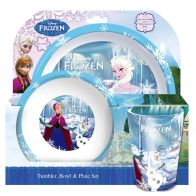 See more information about the Frozen Tumbler Bowl Plate Set