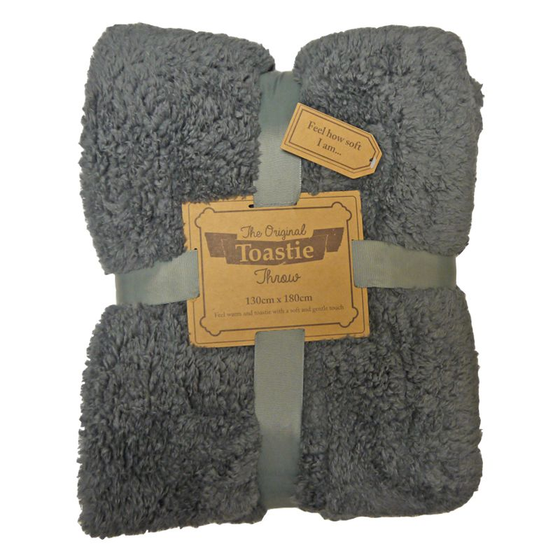 Original Toastie 130 x 180cm Grey Throw