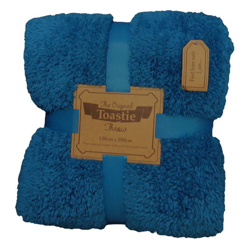 Original Toastie 130 x 180cm Blue Throw