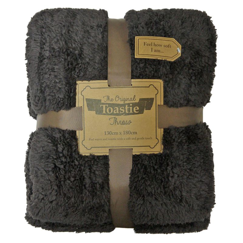 Original Toastie Throw Brown